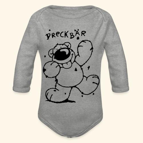 Dreckbär - Baby Bio-Langarm-Body