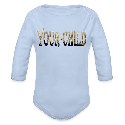 Your-Child - Langærmet babybody, økologisk bomuld
