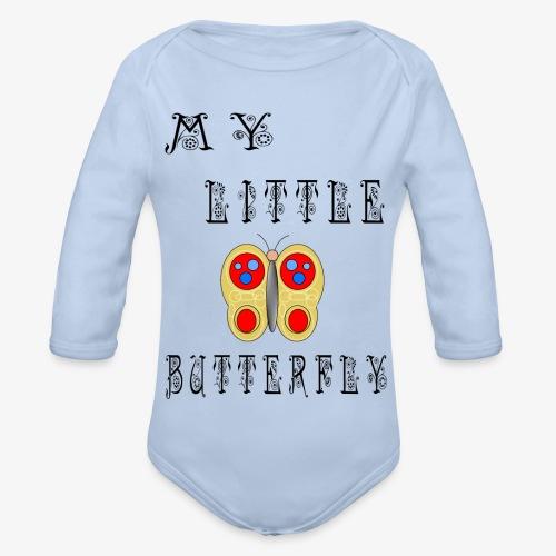 butterfly1 - Baby Bio-Langarm-Body