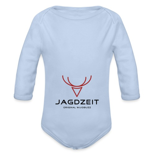 WUIDBUZZ | Jagdzeit | Männersache - Baby Bio-Langarm-Body