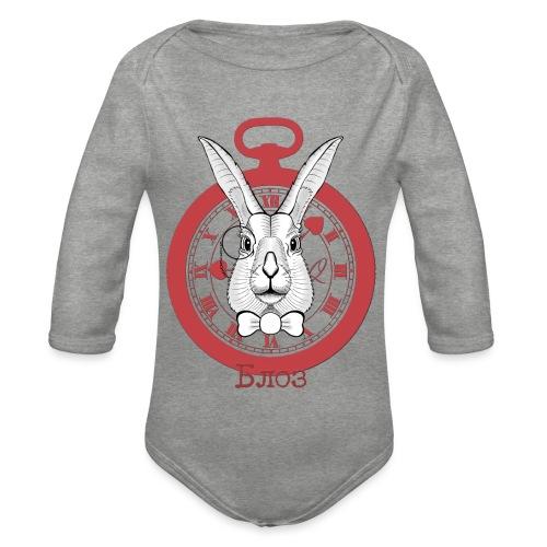 White rabbit - Body Bébé bio manches longues