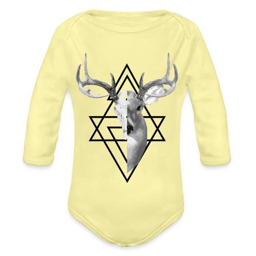My Deer - Vauvan pitkähihainen luomu-body