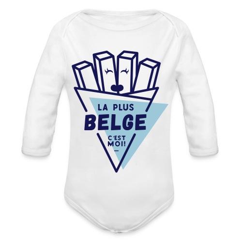 La+Belge - Body Bébé bio manches longues
