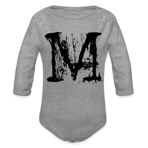 M - Body ecologico per neonato a manica lunga