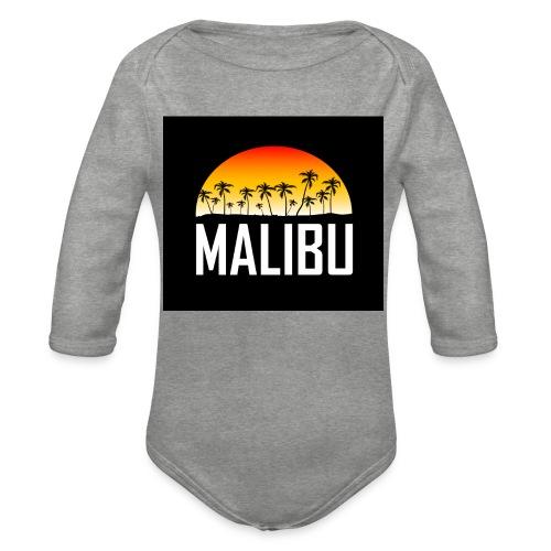Malibu Nights - Organic Longsleeve Baby Bodysuit