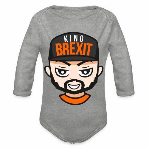 KingB - Organic Longsleeve Baby Bodysuit