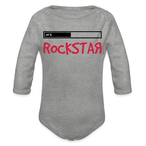 rock_star 50 - Baby Bio-Langarm-Body