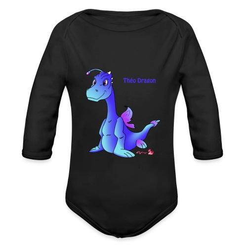 Théo Dragon - Body Bébé bio manches longues