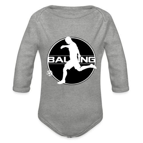 Balling - Baby bio-rompertje met lange mouwen
