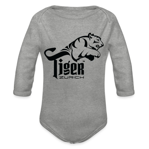 TIGER ZURICH digitaltransfer - Baby Bio-Langarm-Body