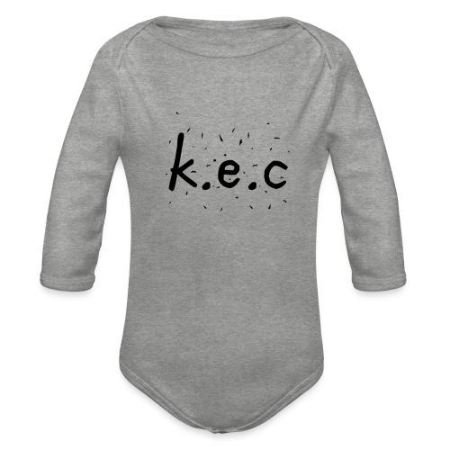 K.E.C bryder tanktop - Langærmet babybody, økologisk bomuld