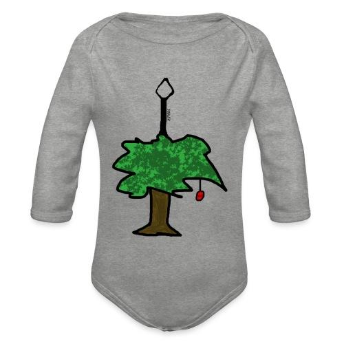TREE OF FRUIT - Baby Bio-Langarm-Body