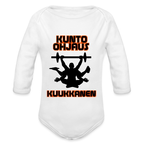 Kunto-ohjaus Kuukkanen Logo - Vauvan pitkähihainen luomu-body