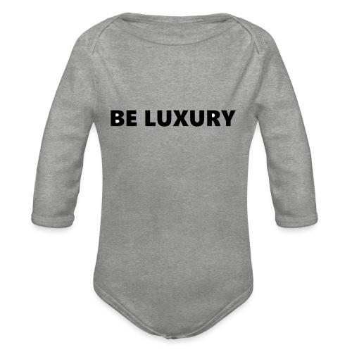 LUXURY CASE S6 - Baby bio-rompertje met lange mouwen