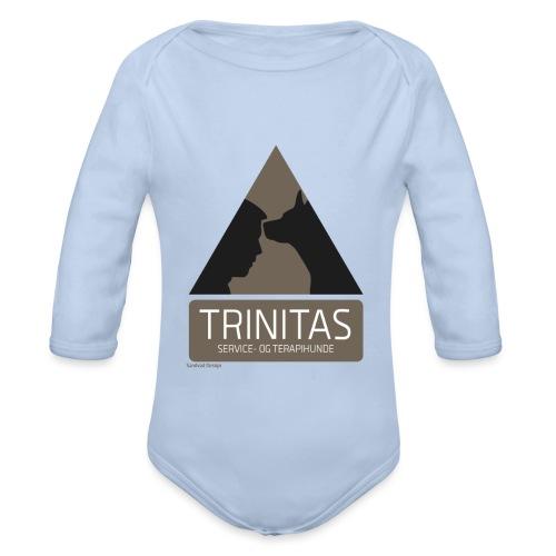 Trinitas Shirts - Langærmet babybody, økologisk bomuld