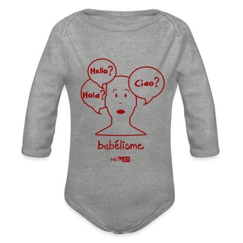 Babelisme - Body ecologico per neonato a manica lunga