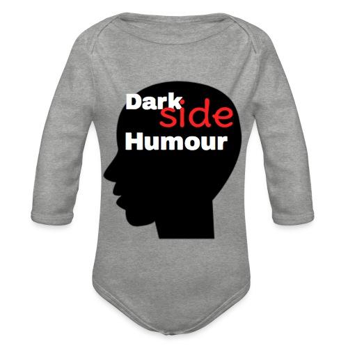 Darkside Humour - Organic Longsleeve Baby Bodysuit