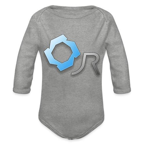 Original JR Logo - Organic Longsleeve Baby Bodysuit