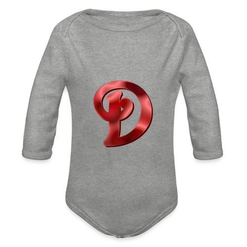 first merch d kids - Organic Longsleeve Baby Bodysuit