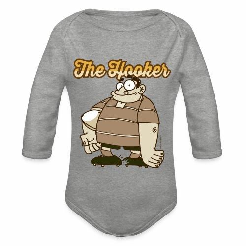 Hooker_Marplo_mug - Body ecologico per neonato a manica lunga