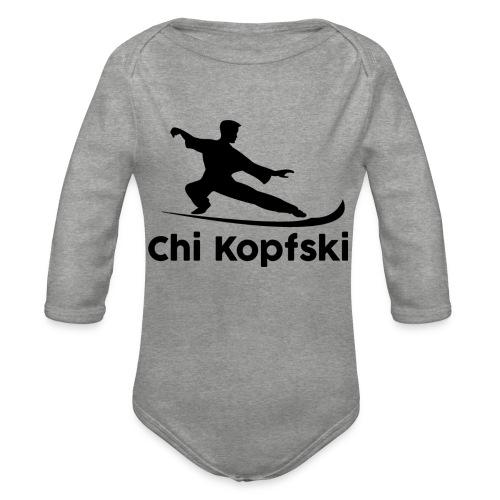chi kopfski - Baby Bio-Langarm-Body