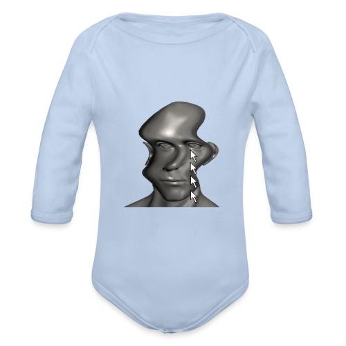 cursor_tears - Organic Longsleeve Baby Bodysuit