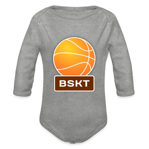 Basket - Body orgánico de manga larga para bebé
