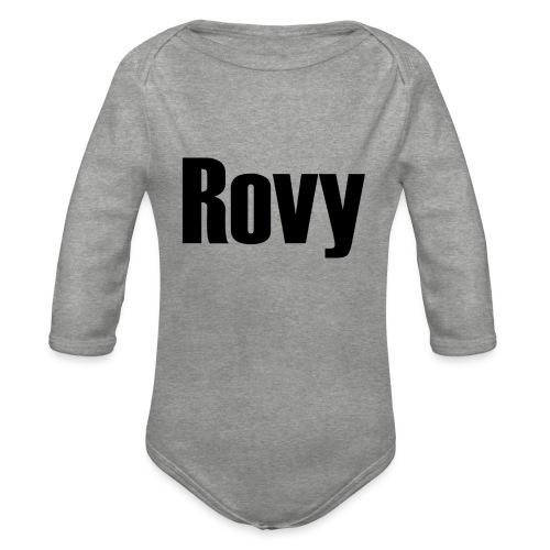 Rovy - Baby bio-rompertje met lange mouwen