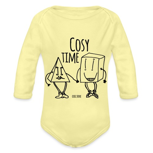 couple like that - Organic Longsleeve Baby Bodysuit