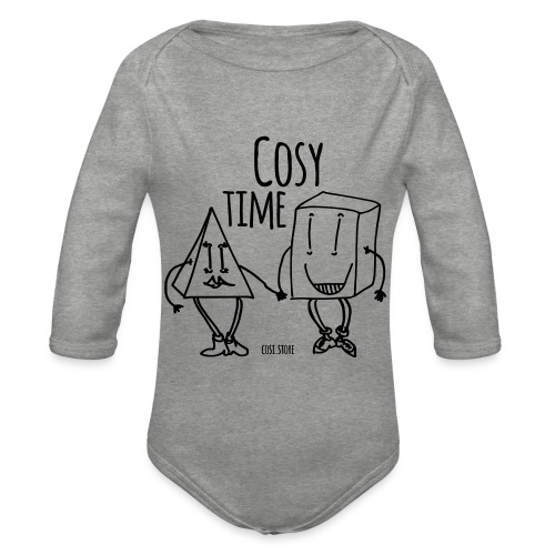 couple like that - Organic Longsleeve Baby Bodysuit