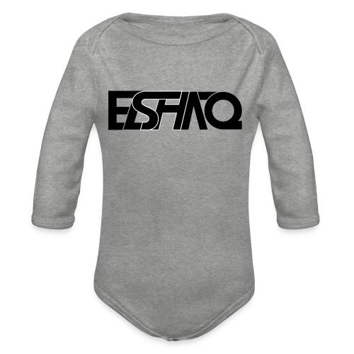 elshaq black - Organic Longsleeve Baby Bodysuit