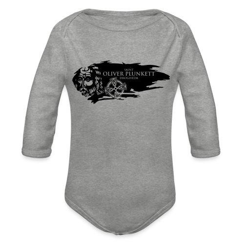 StOliver Black - Organic Longsleeve Baby Bodysuit