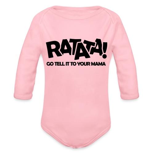 RATATA full - Baby Bio-Langarm-Body