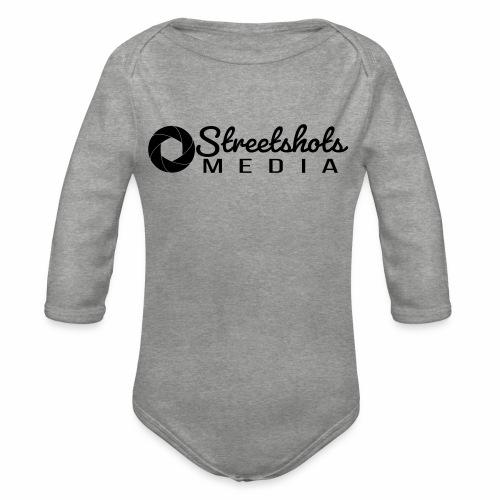 Streetshots Weißspread - Baby Bio-Langarm-Body
