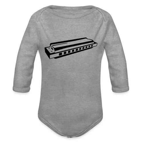 Harmonica - Organic Longsleeve Baby Bodysuit