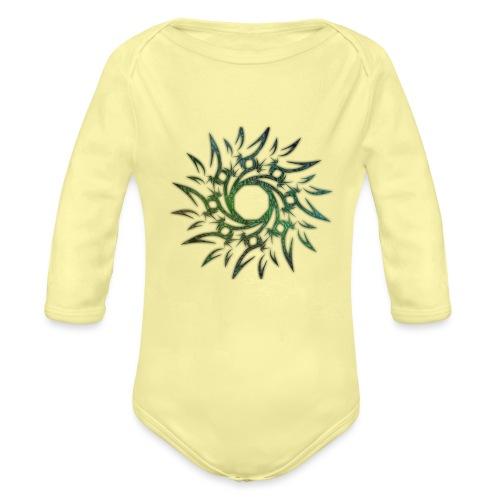 Tribale - Body ecologico per neonato a manica lunga