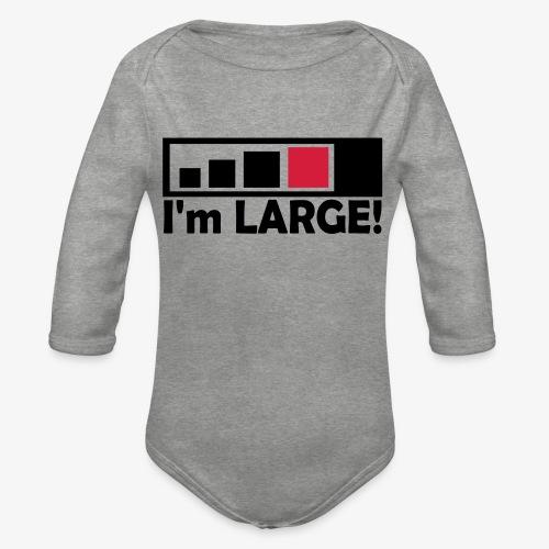large_geocacher - Baby Bio-Langarm-Body