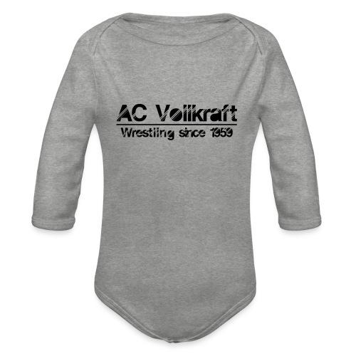 Ac Vollkraft - Wrestling since 1959 - Baby Bio-Langarm-Body