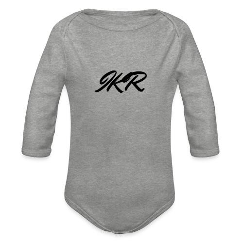 ISK - Body Bébé bio manches longues