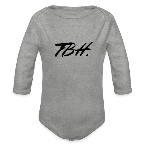 TBH - Body Bébé bio manches longues