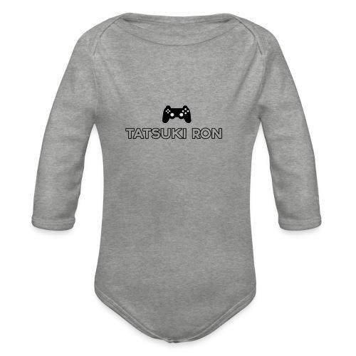Tatsuki Ron's Shirt Design Remastered! - Organic Longsleeve Baby Bodysuit