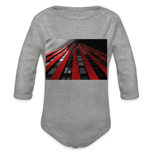 building-1590596_960_720 - Organic Longsleeve Baby Bodysuit