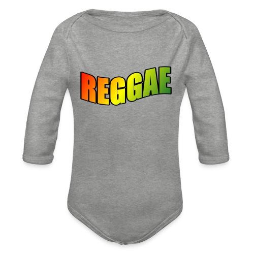 Reggae - Organic Longsleeve Baby Bodysuit