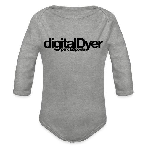 digitalDyer - Organic Longsleeve Baby Bodysuit