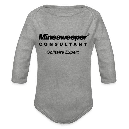 minesweeper - Baby Bio-Langarm-Body