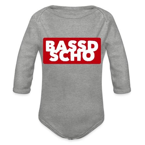 BASSD SCHO - Baby Bio-Langarm-Body