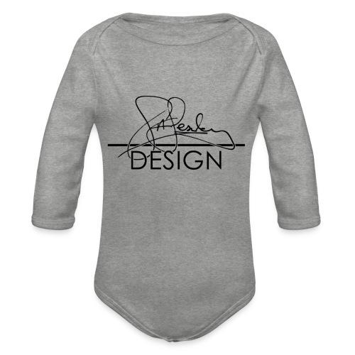 sasealey design logo png - Organic Longsleeve Baby Bodysuit