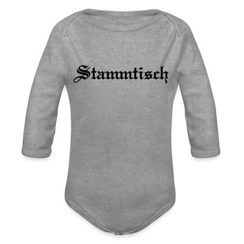 Stammtisch - Kickershirt - Baby Bio-Langarm-Body