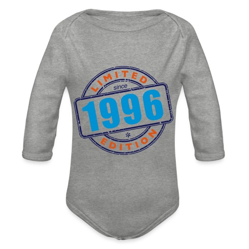 LIMITED EDITION SINCE 1996 - Baby Bio-Langarm-Body