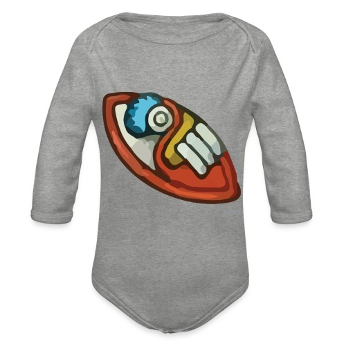 Aztec Flint Knife - Organic Longsleeve Baby Bodysuit